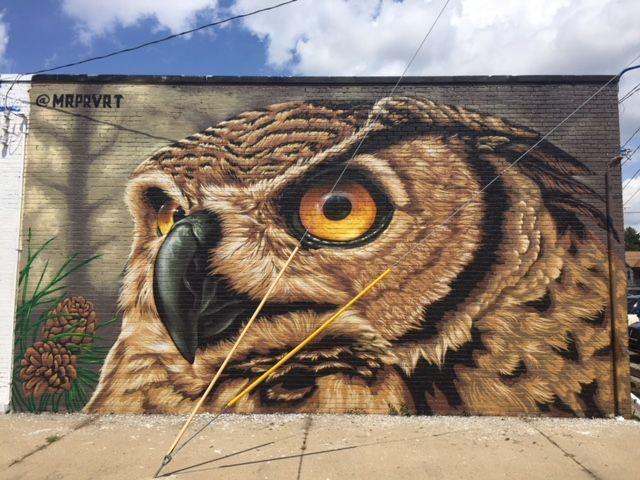 Justin Suarez MR PRVRT Mural