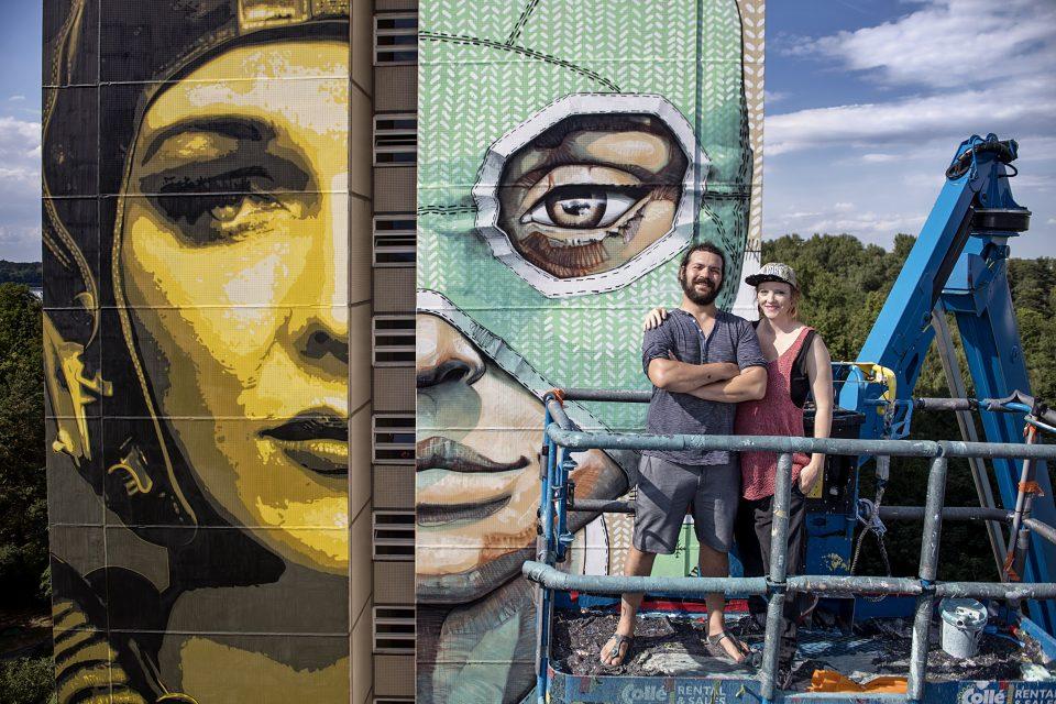 Queenkong Mural Berlin