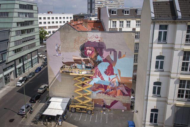 ONE WALL by TELMO MIEL & JAMES BULLOUGH