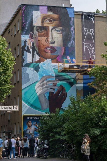 Paradox Elle Berlin Mural Fest