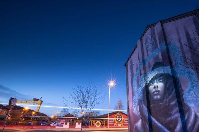 Nomad Clan Mural UN Museum