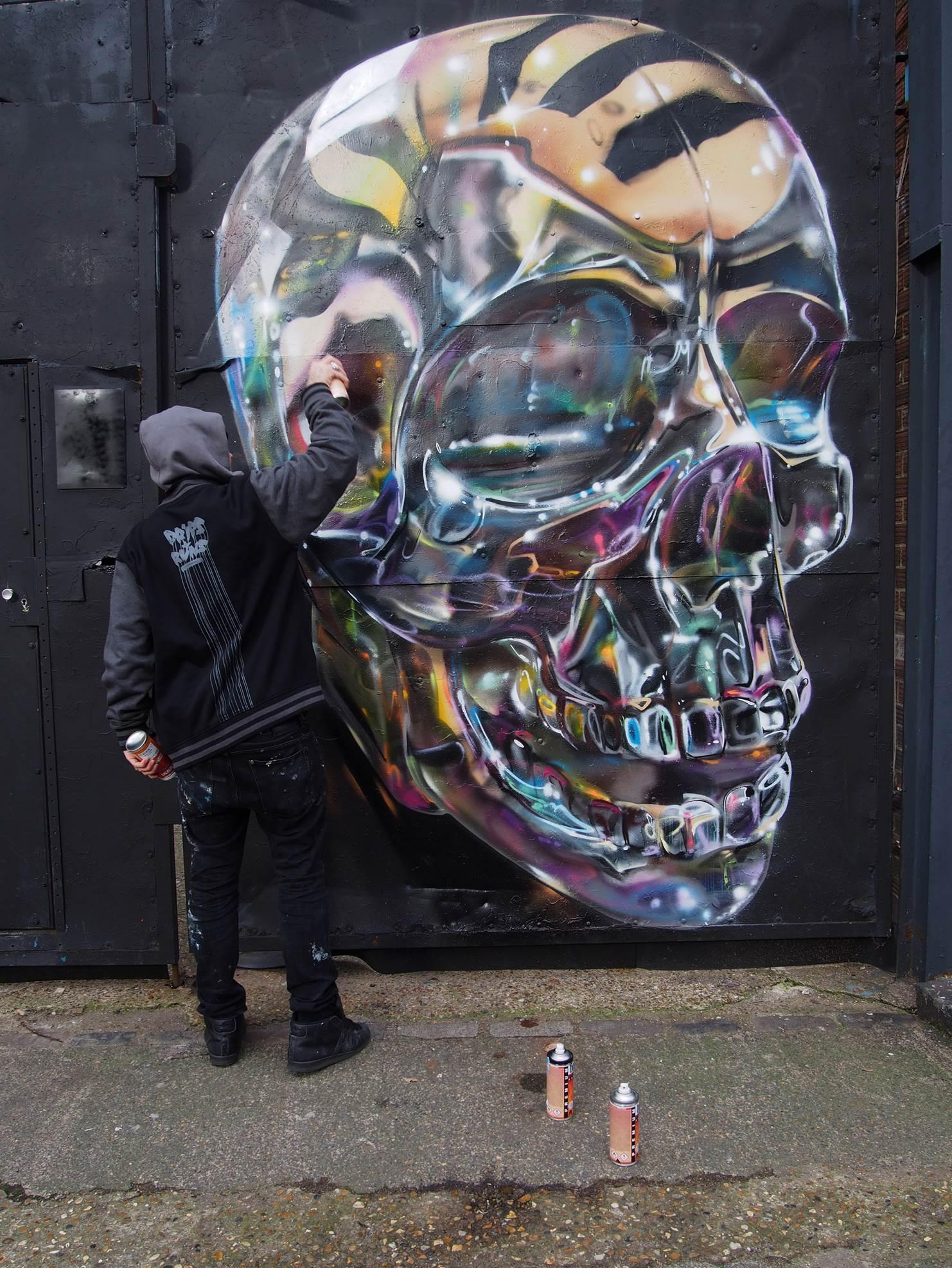 Fanakapan Skull Community Wall