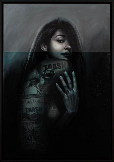 Artwork by Sebastian Wandl at Fresh A.I.R.