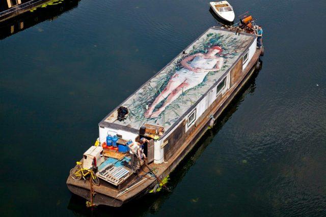 Borondo Boat UN-DERSTAND UN Museum