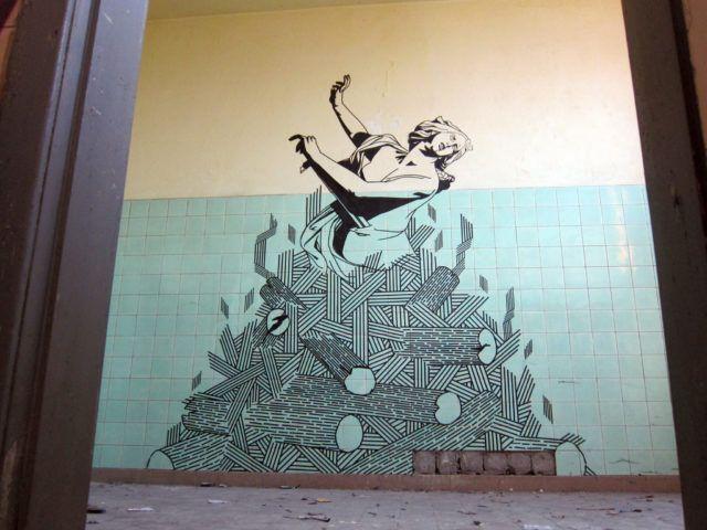 Buff Diss Didos Lament Mural