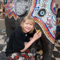 Carrie Reichardt 'Phoolan' Elephant Sculpture