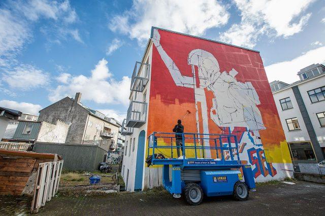 DEIH XLF WALL POETRY Iceland Airwaves