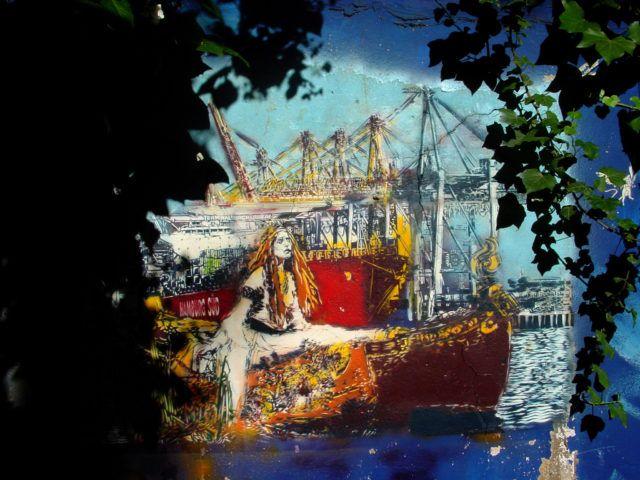 Artiste Ouvrier Ships URBAN NATION