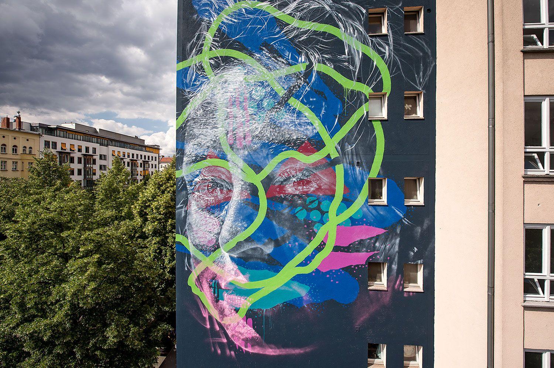 Wandbild Mural CHARLOTTE DUTOIT