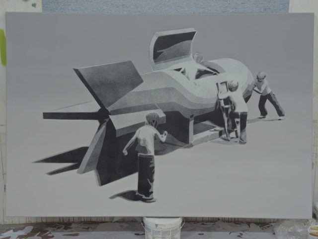 M-City Painting Canvas URBAN NATION