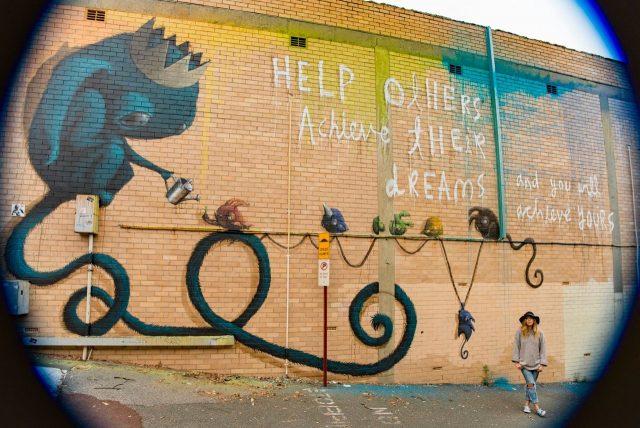 Hayley Welsh Mural