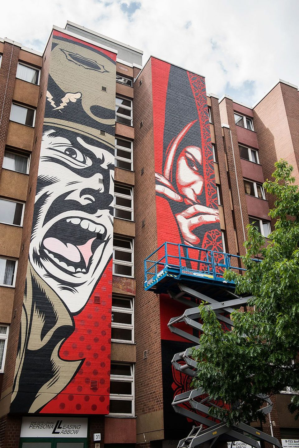 ONE WALL D*FACE & SHEPARD FAIREY Project M