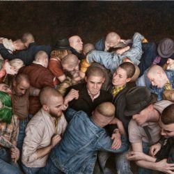 Dan Witz Project M Mosh Pit URBAN NATION
