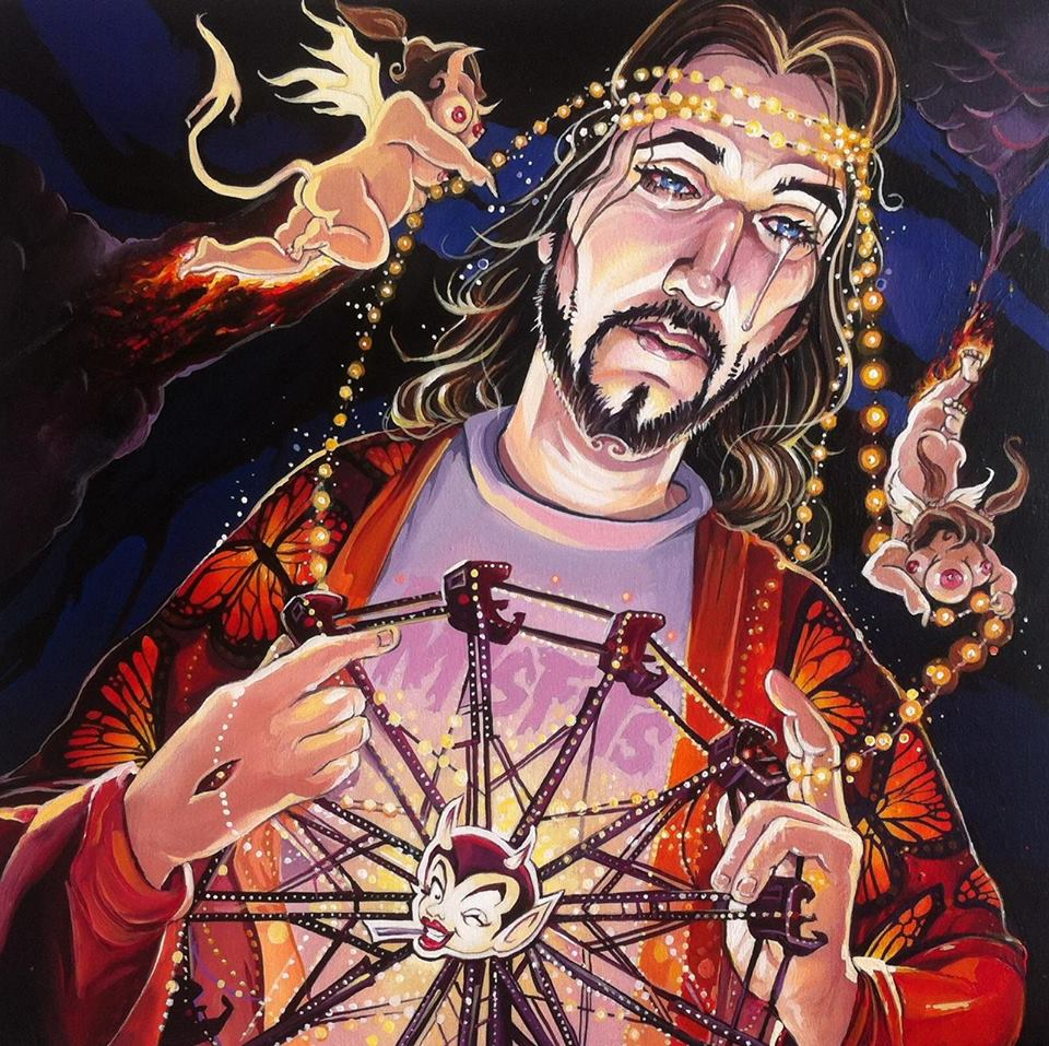 Dave MacDowell Jesus Pop Up Show URBAN NATION