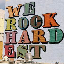 """Eine """"we rock hardest"""" Mural Alphabet"""