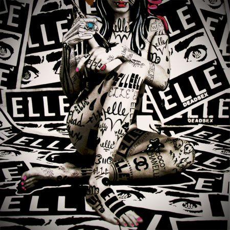 "ELLE ""tattoo"" URBAN NATION Museum"