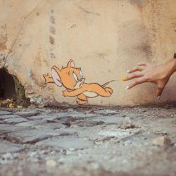 Ernest Zacharevic Mouse URBAN NATION