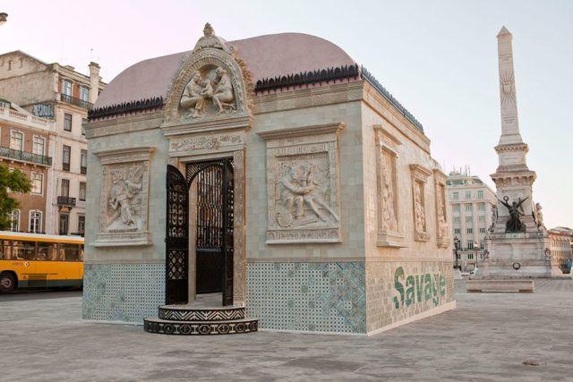 FAILE Temple installation