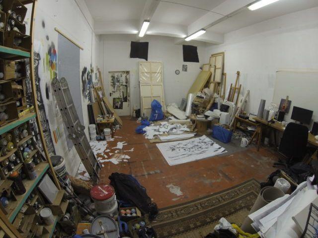 M-City Studio Art Canvas