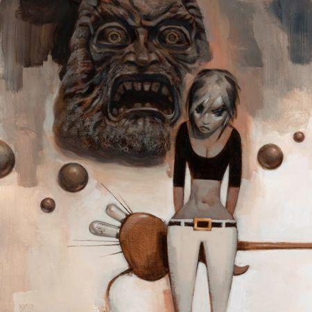 Artist Glenn Barr