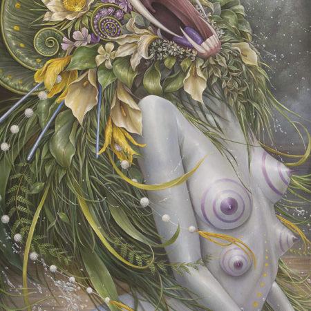 Artist Hannah Yata