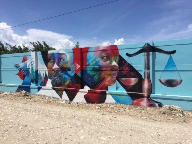 Allison Torneros Hueman Haiti Walls
