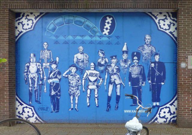 Hugo Kaagman Stencil King Mural