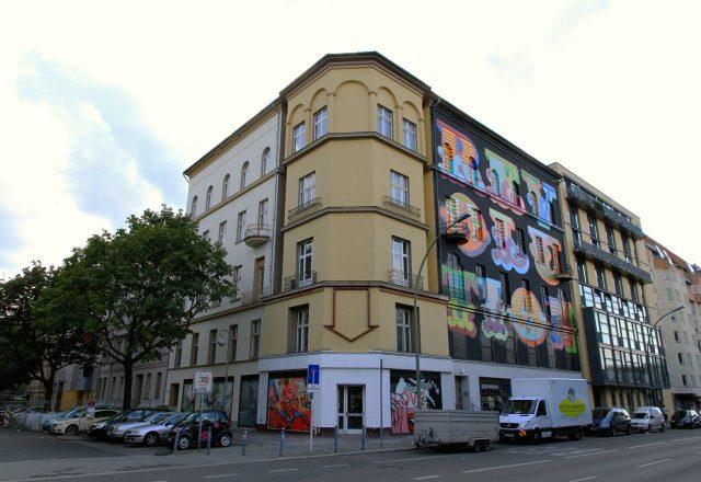 Ben Eine Facade Project M 5