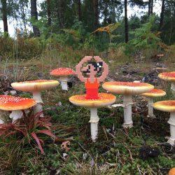 Pappas Pärlor Pearls Ballerina Mushroom