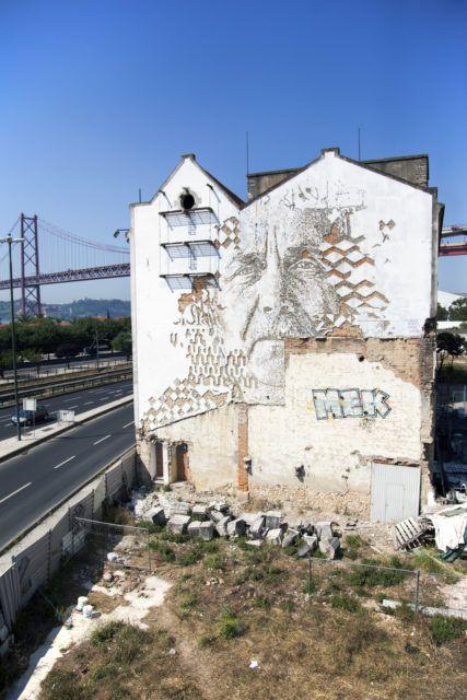 VHILS Lisbon URBAN NATION Museum