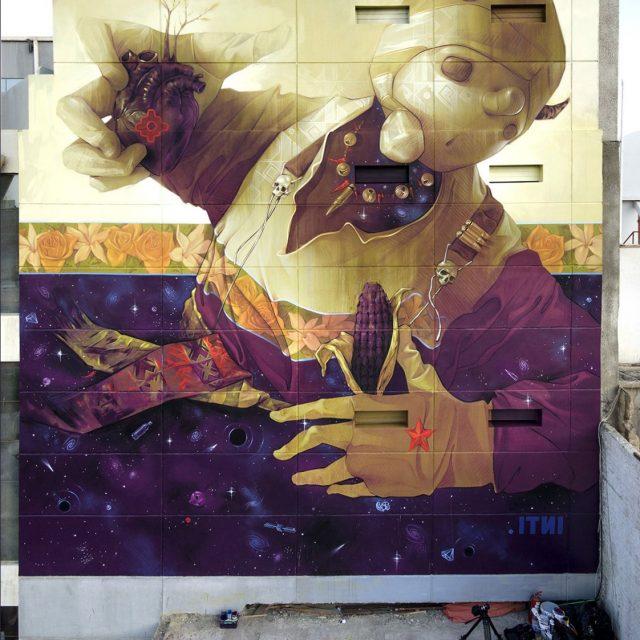 INTI Mural URBAN NATION