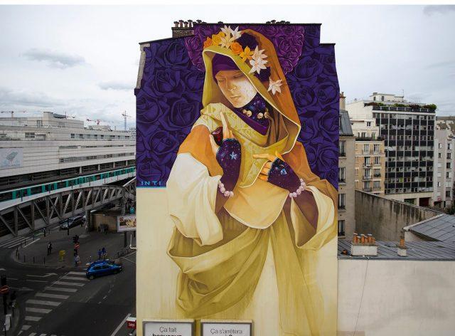 INTI Paris Mural 2016
