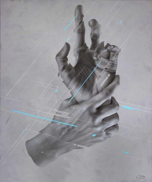 James Bullough Painting UN