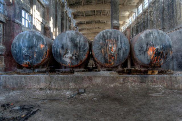 Plotbot KEN Acid Tanks URBAN NATION