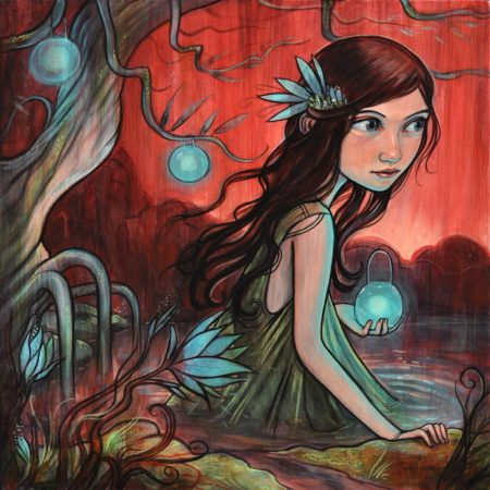 Artist Kelly Vivanco