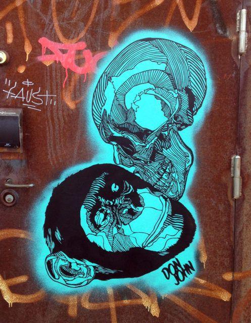 Don John Kiss of Death Skull Ape