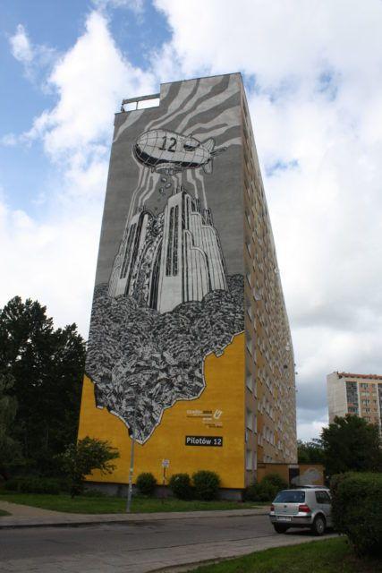 M-City Gdansk Mural