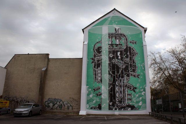 M-City Neuss Mural
