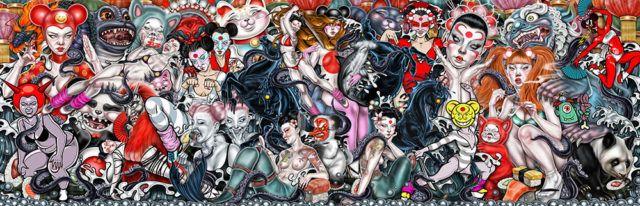 Mimi S. Kawaii digital drawing