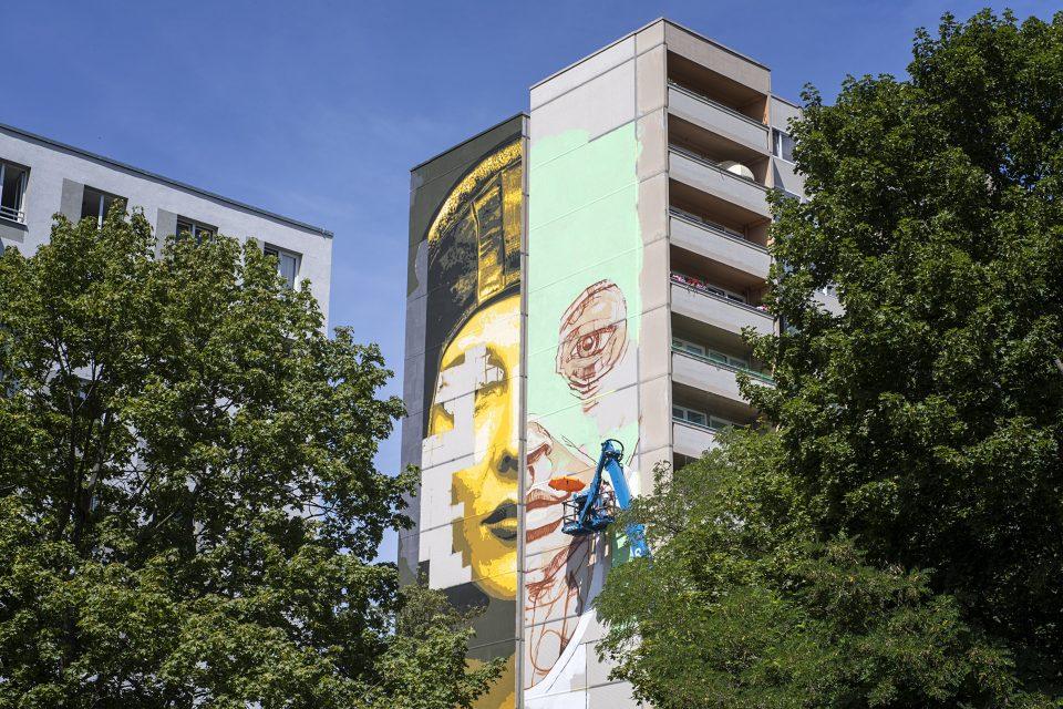 Mural Artpark Tegel