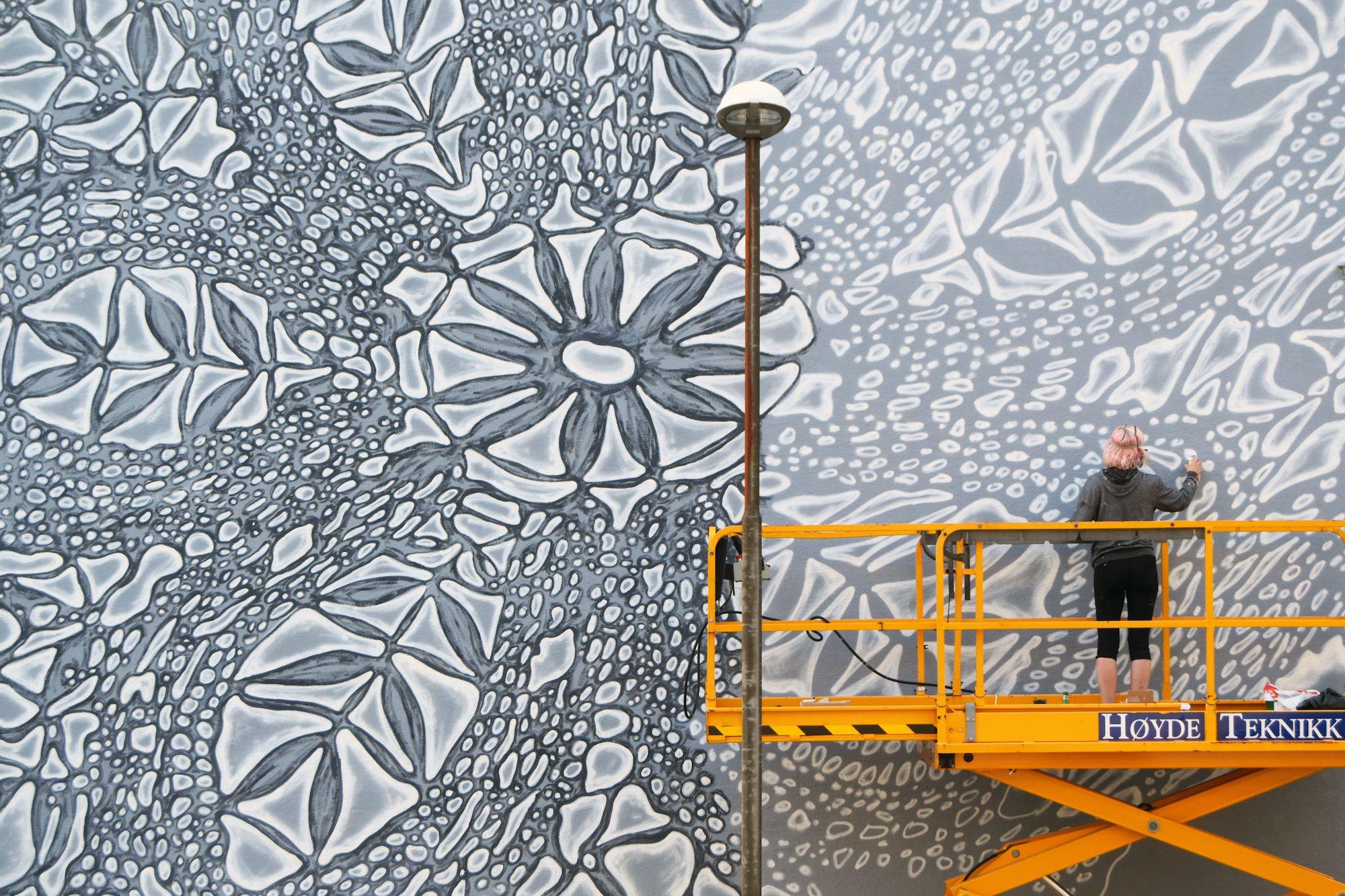 Mural Wandbild Nespoon