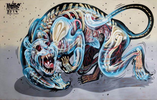 Nychos Painting URBAN NATION UN-DERSTAND