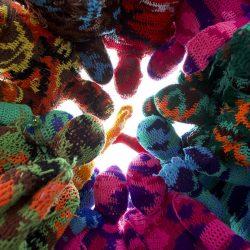Olek Crochet Performance URBAN NATION
