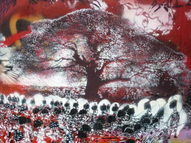 Artiste Ouvrier Tree Stencil