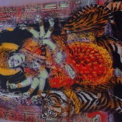 Artiste Ouvrier Shiva Stencil