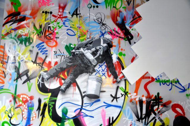 Martin Whatson Stencil Art URBAN NATION
