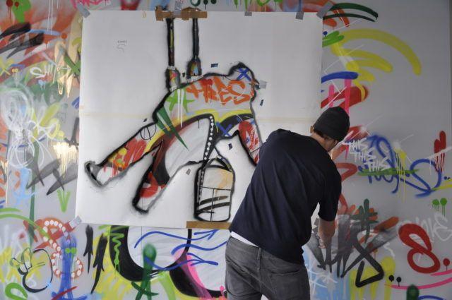 Martin Whatson Stencil Artist URBAN NATION