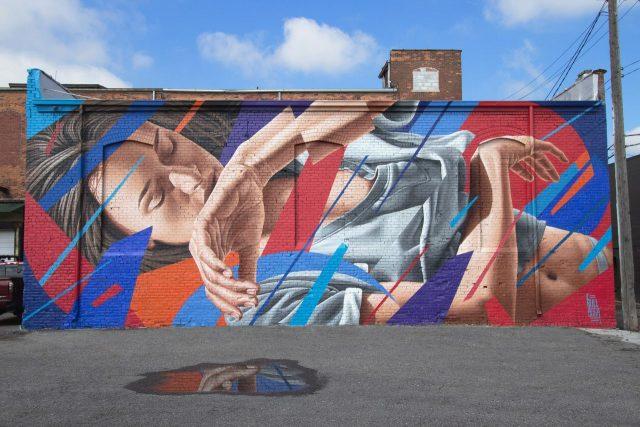James Bullough Mural UN