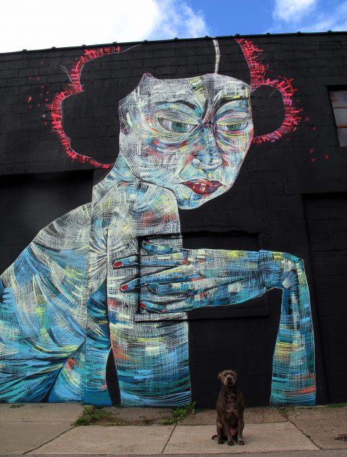Faring Purth Annabel Mural