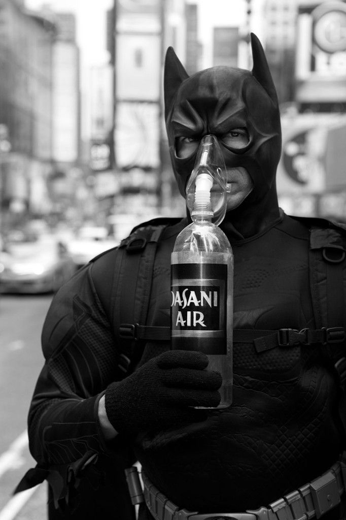 Raemann Batman Mask Bottle Photo